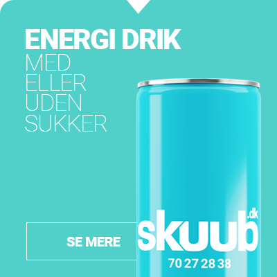 Energidrik med eller uden sukker - Din reklame på etiketten . Private label