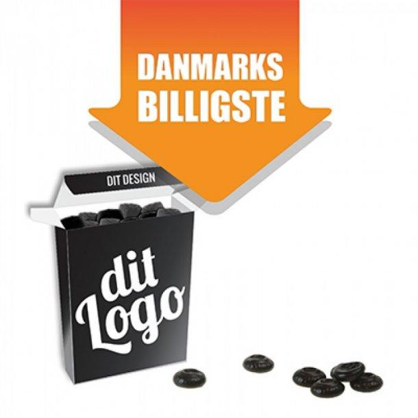 Danmarks billigste - Sukkerfri lakridspastiller 15 g