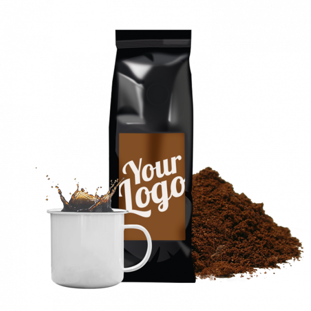 Kaffe med logo - Økologisk